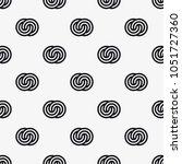 vector seamless pattern.... | Shutterstock .eps vector #1051727360