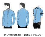 shirt design vector | Shutterstock .eps vector #1051744109