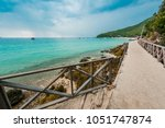 landscape sea and beach at koh... | Shutterstock . vector #1051747874
