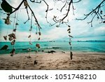 landscape sea and beach at koh... | Shutterstock . vector #1051748210