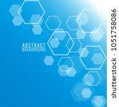 vector abstract geometric...   Shutterstock .eps vector #1051758086