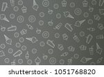 light gray vector cover with... | Shutterstock .eps vector #1051768820