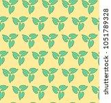 floral ornament. seamless... | Shutterstock . vector #1051789328