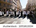 rome italy 24 10 2015 ... | Shutterstock . vector #1051813334