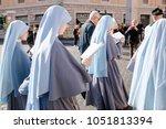 rome italy 24 10 2015 ... | Shutterstock . vector #1051813394