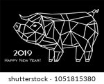 2019 happy new year greeting...