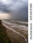 Storm Front Over Water With...