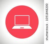 laptop icon vector illustration....