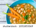 delicious and nutritious... | Shutterstock . vector #1051853369
