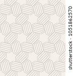 vector seamless pattern. modern ... | Shutterstock .eps vector #1051862570