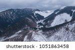 ski resort jasna slovakia... | Shutterstock . vector #1051863458