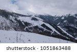 ski resort jasna slovakia... | Shutterstock . vector #1051863488