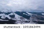 ski resort jasna slovakia... | Shutterstock . vector #1051863494