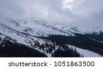 ski resort jasna slovakia... | Shutterstock . vector #1051863500