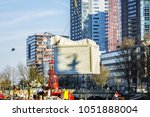 rotterdam  the netherlands  ... | Shutterstock . vector #1051888004