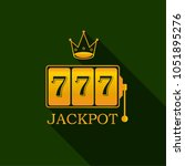king golden slots 777 banner... | Shutterstock .eps vector #1051895276