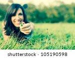 flower and meadow | Shutterstock . vector #105190598