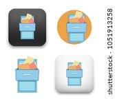 flat vector icon   illustration ... | Shutterstock .eps vector #1051913258