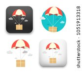 flat vector icon   illustration ... | Shutterstock .eps vector #1051913318