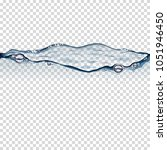 realistic transparent water and ...   Shutterstock .eps vector #1051946450