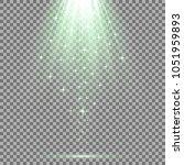 vector spotlight effect with... | Shutterstock .eps vector #1051959893