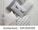 smothery polka dot sheets polka ... | Shutterstock . vector #1051965458
