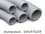 corrugated pipe for... | Shutterstock . vector #1051975259