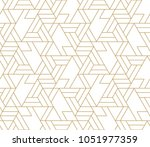 abstract geometric pattern with ... | Shutterstock .eps vector #1051977359