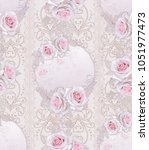 seamless pattern. decorative...   Shutterstock . vector #1051977473