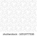 abstract geometric pattern with ... | Shutterstock .eps vector #1051977530