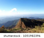 sky and mountain  thailand | Shutterstock . vector #1051982396