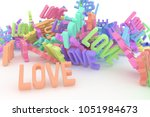 background abstract  bunch of... | Shutterstock . vector #1051984673