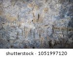 grunge and cracked old concrete ... | Shutterstock . vector #1051997120