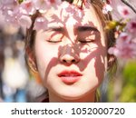 Outdoor Portrait Of Beautiful...