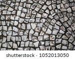 street stone pavement.... | Shutterstock . vector #1052013050