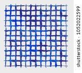 batik tie dye texture repeat... | Shutterstock . vector #1052022599