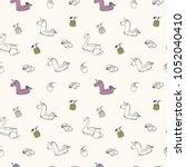 vector illustration. unicorn...   Shutterstock .eps vector #1052040410