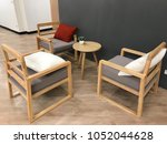 three chairs in the living room ... | Shutterstock . vector #1052044628