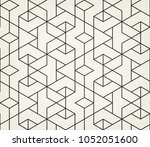 abstract geometric pattern with ... | Shutterstock .eps vector #1052051600
