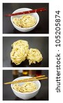 A Collage Of Chinese Noodles I...