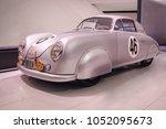 stuttgart  germany april 7 ... | Shutterstock . vector #1052095673