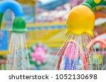 shower in the water park | Shutterstock . vector #1052130698