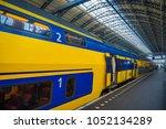 amsterdam  netherlands  march ... | Shutterstock . vector #1052134289