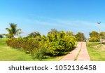 park at rani ki vav  an... | Shutterstock . vector #1052136458