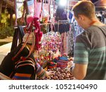 A Man  Tourist  Negotiating The ...