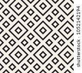 stylish lines lattice. ethnic... | Shutterstock .eps vector #1052142194