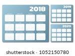 English Calendar 2018 2019 202...
