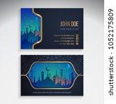 ramadan kareem design | Shutterstock .eps vector #1052175809