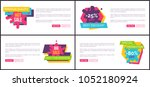 premium quality hot sale ... | Shutterstock .eps vector #1052180924