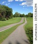 public park in summer time | Shutterstock . vector #1052186294